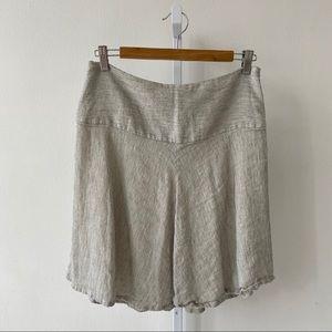 Cabi Luna Skirt Linen Blend Swingy A Line 829 6